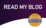 Read my PHP blog