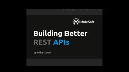 Building Better APIs