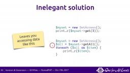 Iterators & Generators
