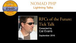 RFCs of the Future: Tick Talk